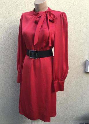 Романтическое платье в ретро,винтаж стиле,бант по шее,