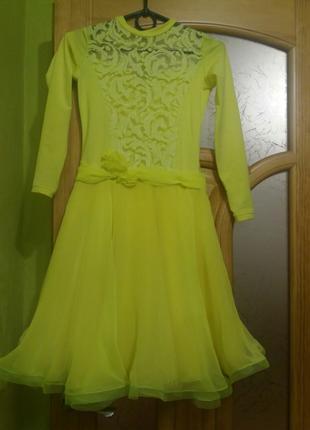 Платье для бальных танцев бейзик