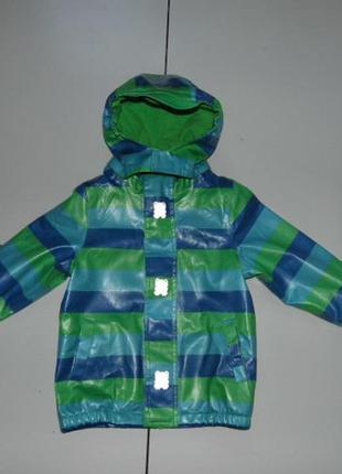 Куртка дождевик на флисе мальчику - tcm kids 98/104