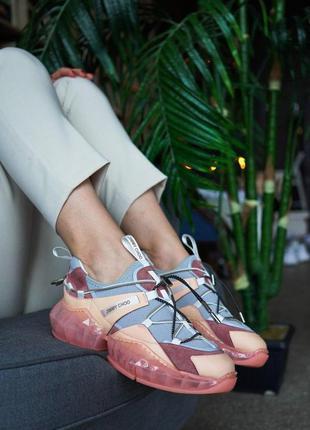 Модные женские кроссовки jimmy choo diamond trail! джимми чу! ...