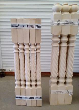 Балясины,перило, ступени, столбы все для лестницы