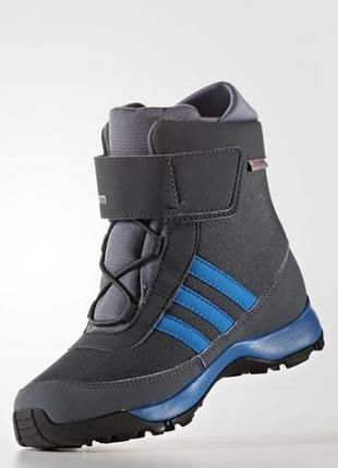 Детские зимние сапоги adidas climawarm adisnow k (артикул:aq4129