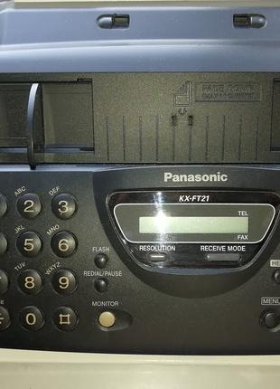 Телефон-факс Panasonic Kx-ft21