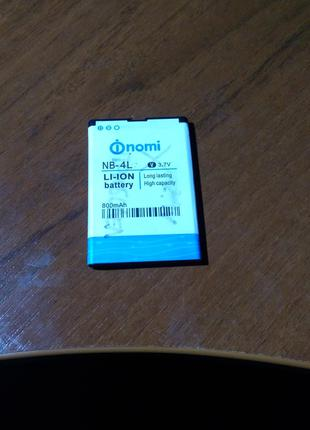 Аккумулятор для Nomi i240 | NB-4L | NB4L (3.7V 800mAh)