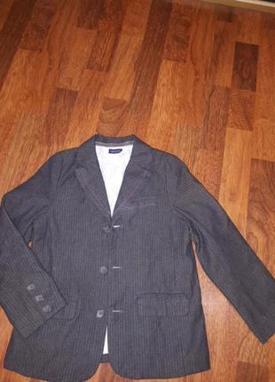 Приталенный школьный пиджак chicco 116