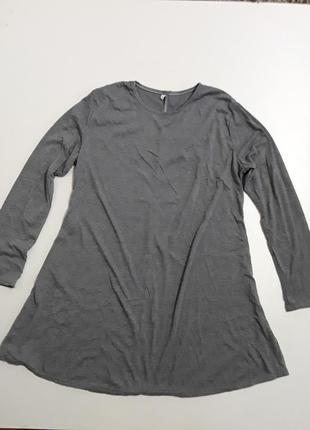 Фирменное трикотажное платье для дома