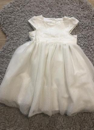 Платье young dimentions на 1.5-2 года!