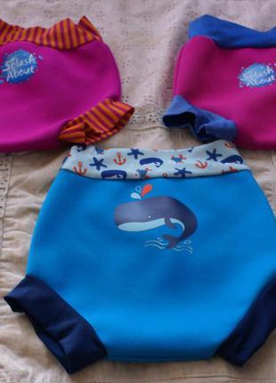 Многоразовые плавки-подгузники бренда splash about