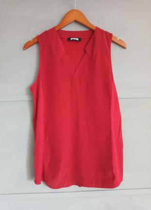 Красная блуза . майка. топ