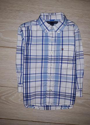 Рубашка tommy hilfiger на 2 года