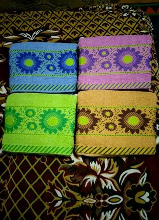 Махровое большое полотенце