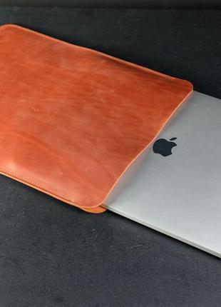 Кожаный чехол для macbook, чехол для макбука, ручная работа, в...