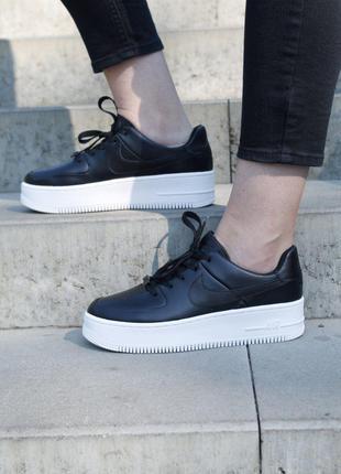 Кроссовки Nike Air Force 1 Sage Black