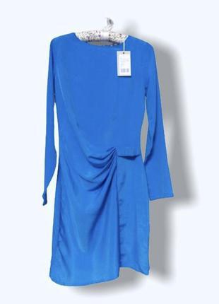 Платье небесно синего цвета
