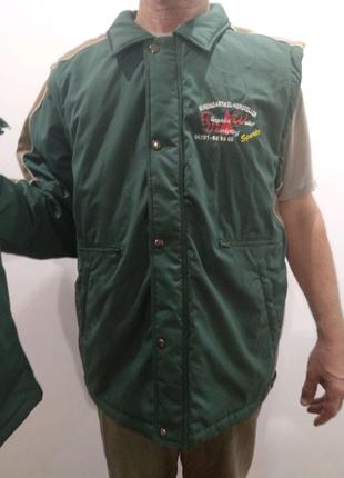 """Мужская куртка/жилет""""стильная рыбалка"""""""