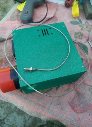 Терморегулятор на ПИД контроллере REX-C100 и твердотельном рел...