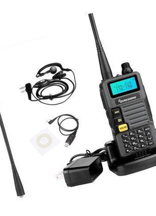 Рация радиостанция (VHF,UHF) Quansheng UV-R50 + гарнитура