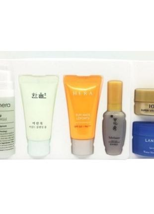 Корейская косметика 6 миниатюр:Корейск брендов уход за кожей лица