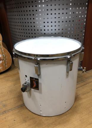 (3207) Барабан Том Напольный 16 Дюймов White