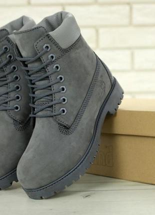 🌹новинка🌹женские зимние ботинки timberland grey. тимберленд.