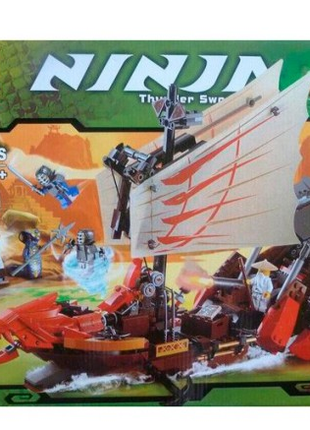 Конструктор NINJA BELA 9762