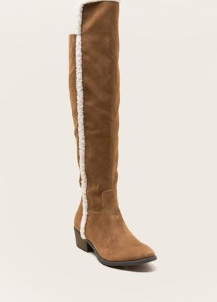 Американская обувь/одежда!ботфорты, высокие сапоги francesca's