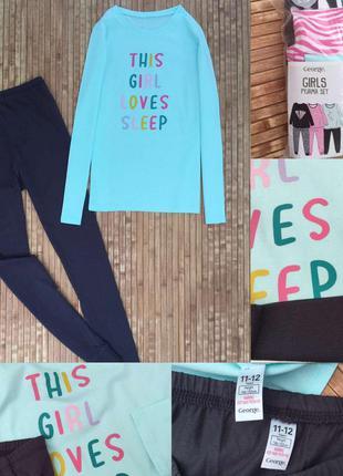 Пижама на девочку 11-12 лет