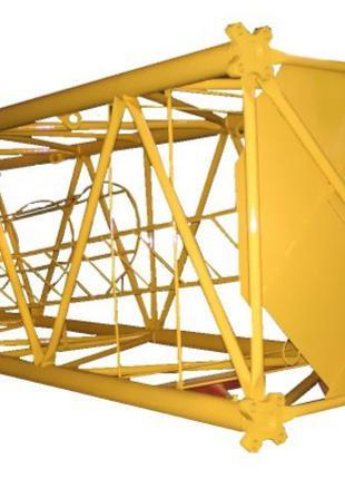 Секции башенного крана КБ403