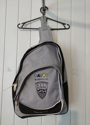 Мужской рюкзак на плече davos оригинал