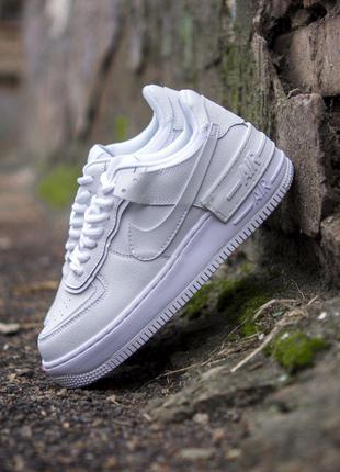 Кроссовки Nike Air Force Shadow white