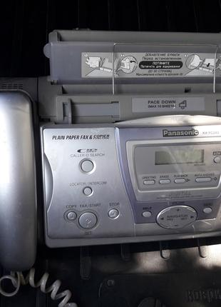 Panasonic KX-FС243 - Факсимильный аппарат