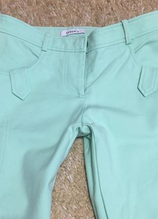 Летние брюки штаны джинсы versace оригинал
