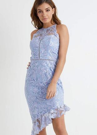 Шикарное платье кружево