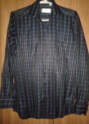 Рубашка на 14-15 лет, размер s, 37/38