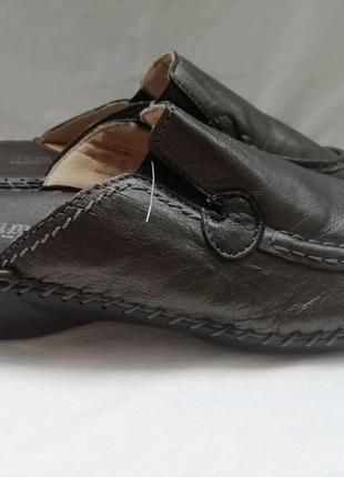 Bama кожаные тапочки шлепанцы р. 40 ст. 26,5 см