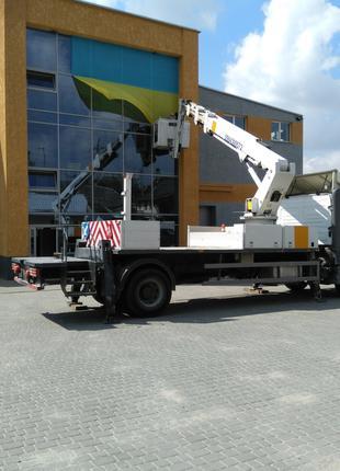 Послуги (оренда) автовишки 27 метрів, вантажопідйомність 200 кг