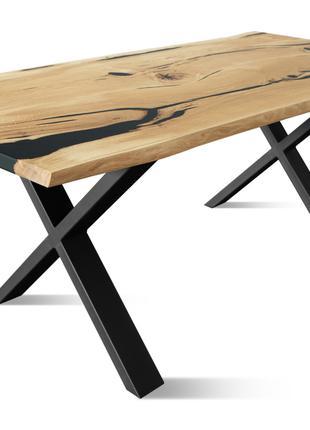 Столы LOFT из массива дуба/бука/ясеня/ореха/акации.