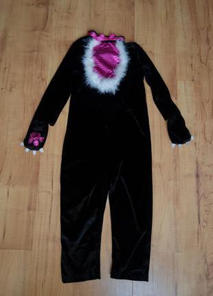 Карнавальный костюм детский кошка котик на 7-8 лет