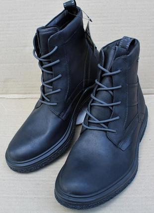 Ботинки ecco crepetray hybrid m 200954 gore-tex натуральна кож...