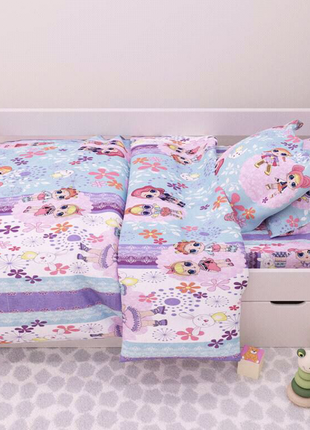 Постіль в дитяче ліжко