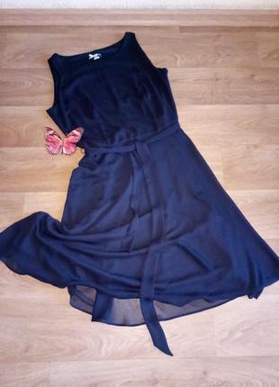 Турция 💖class💖 платье вечернее черное легкое