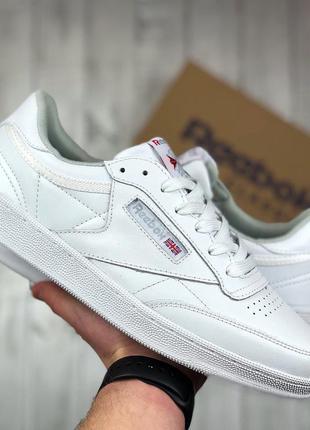 🔥reebok club c (белые)