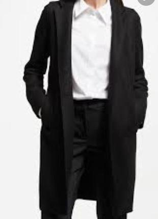 Тренч шерстяной пальто стильный модный дорогой бренд marella р...