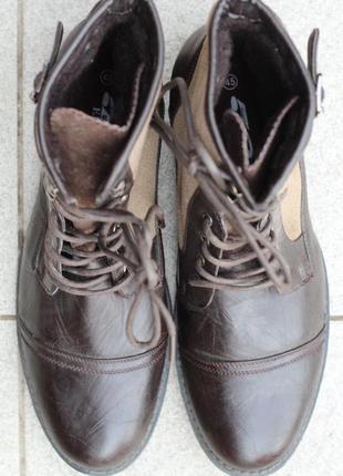 Зимние фирменные ботинки elong