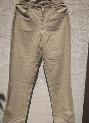 Классные  котоновые штаны, брюки warrick из финдяндии цена сни...