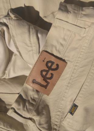 Шикарные джинсовые брюки lee