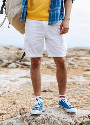 Мужские шорты 6 карманов life-line хлопок