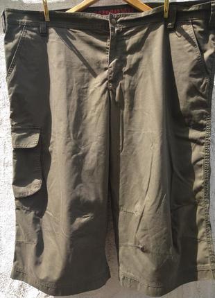 Удлиненные шорты casual wear в цвете хаки