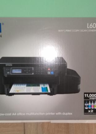 Новий БФП (МФУ) принтер Epson L605 Епсон Л605