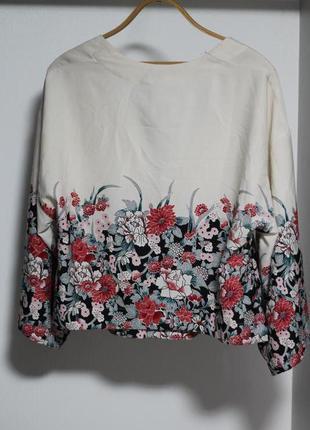 Роскошный летний пиджак в цветочный принт lindex